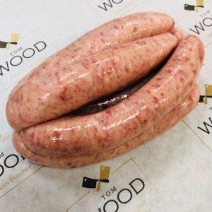 pork sausage tom wood